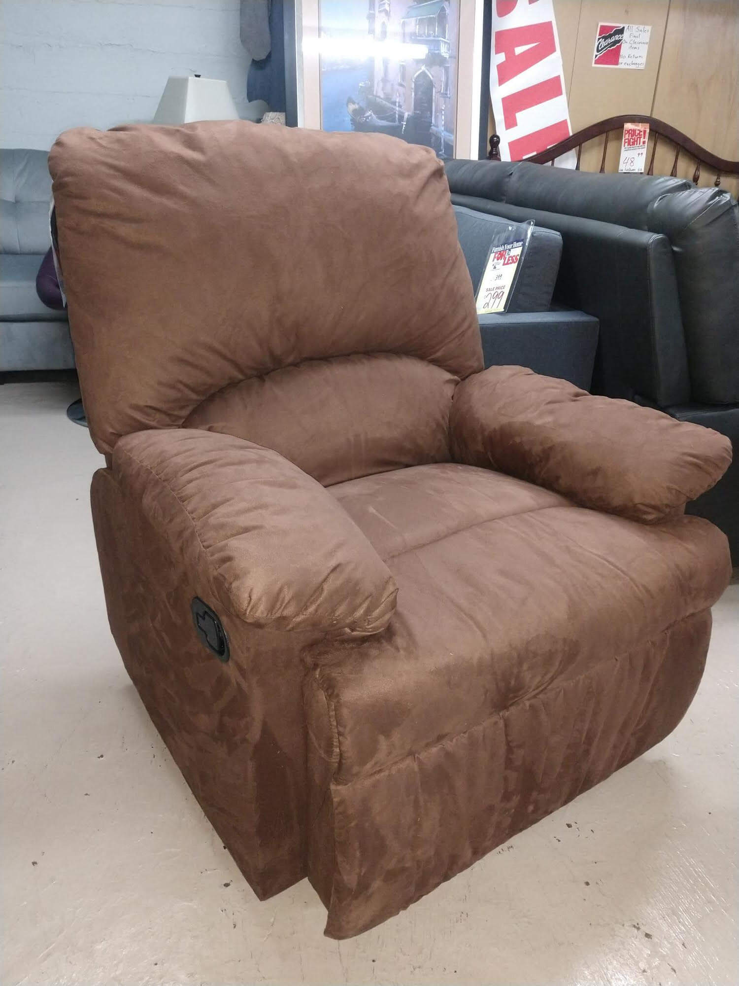New Recliners From $80