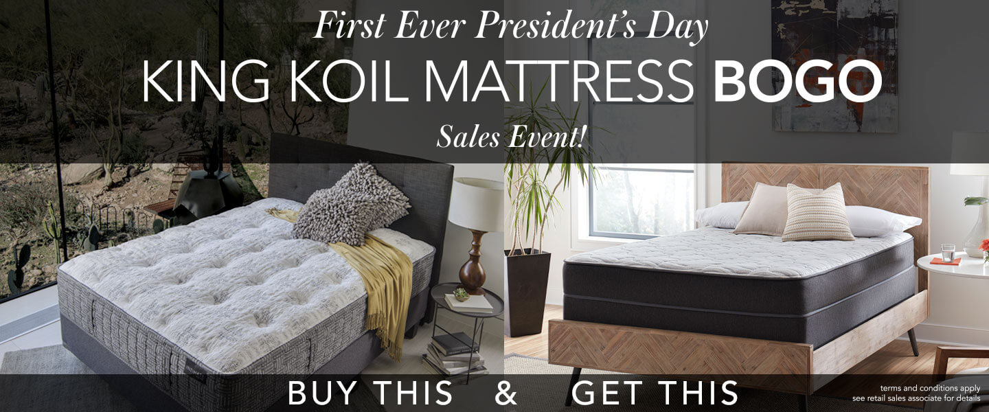 King Koil Presidents Day Sale